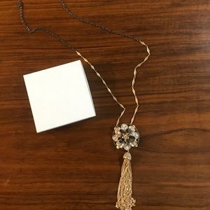 Badgley Misha Flower Pendant Necklace | NWT